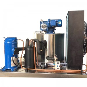 Seawater flake ice machine-0.8T