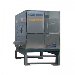 industrial cube ice machine-5T