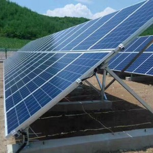 Off grid kit photovoltaic solar support