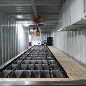 brine type block ice machine-15T