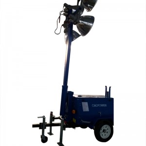 Trailer and light tower generator