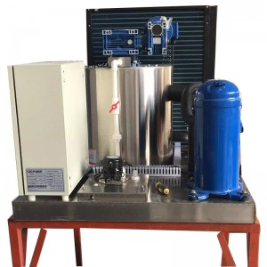 Seawater flake ice machine-1T
