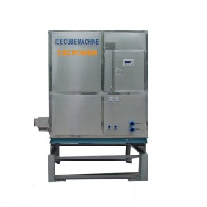 industrial cube ice machine-4T