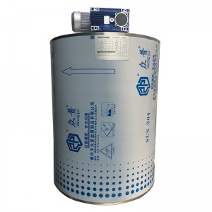 Seawater On Boat Flake Ice Machine Evaporator
