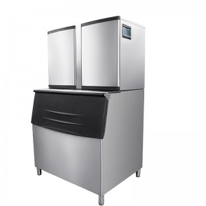 Commercial cube ice machine-700KG