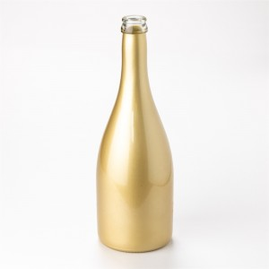Glass bottles for champagne wine