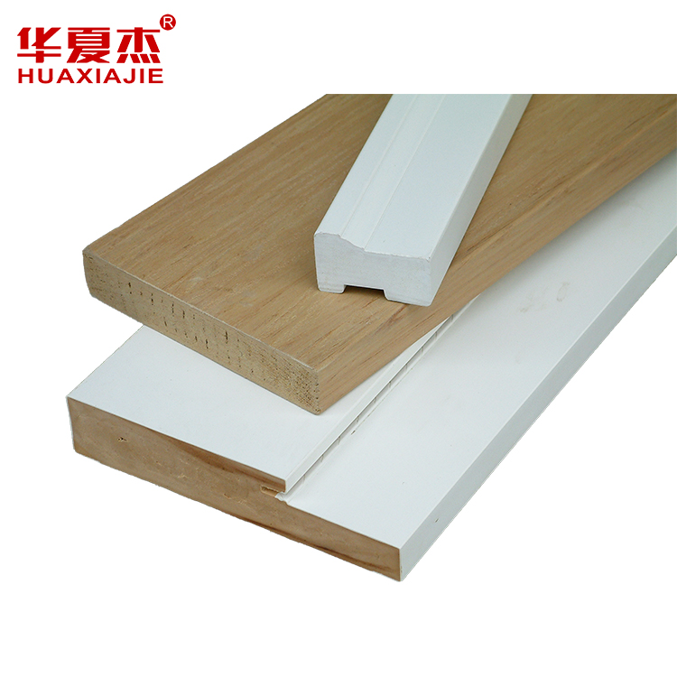 High Quality moisture proof PVC door profile /PVC trim moulding for window or door Featured Image