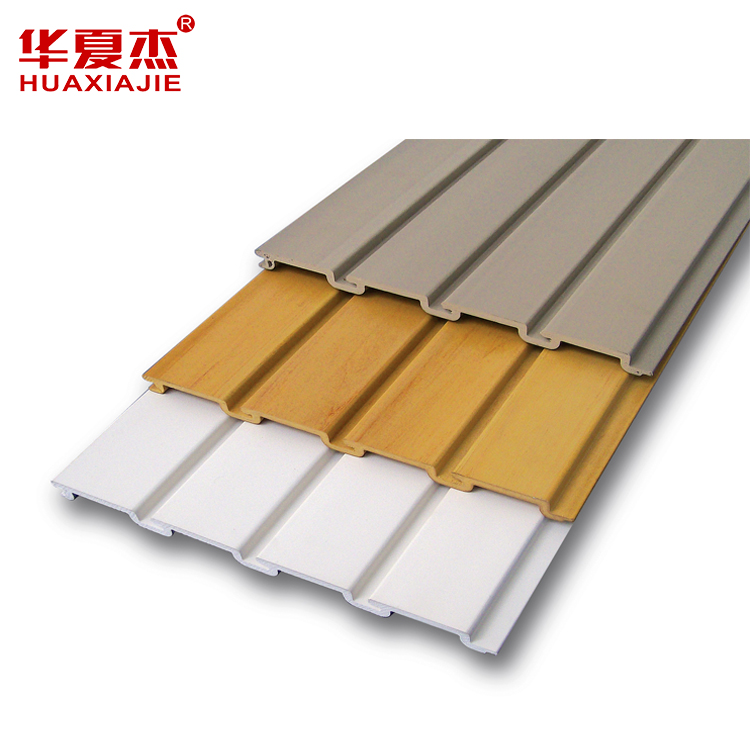 China SGSFactory  PVC Vinyl Slatwall Panel for Garage