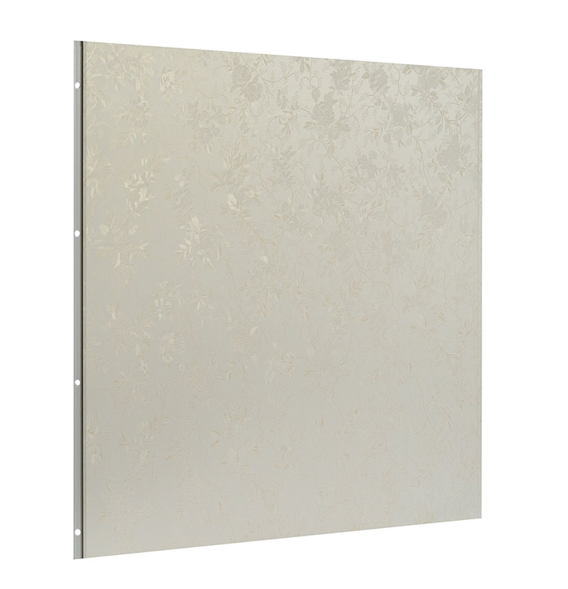 quick install decorative WPC wall panel 600mm*9mm for home or hotel