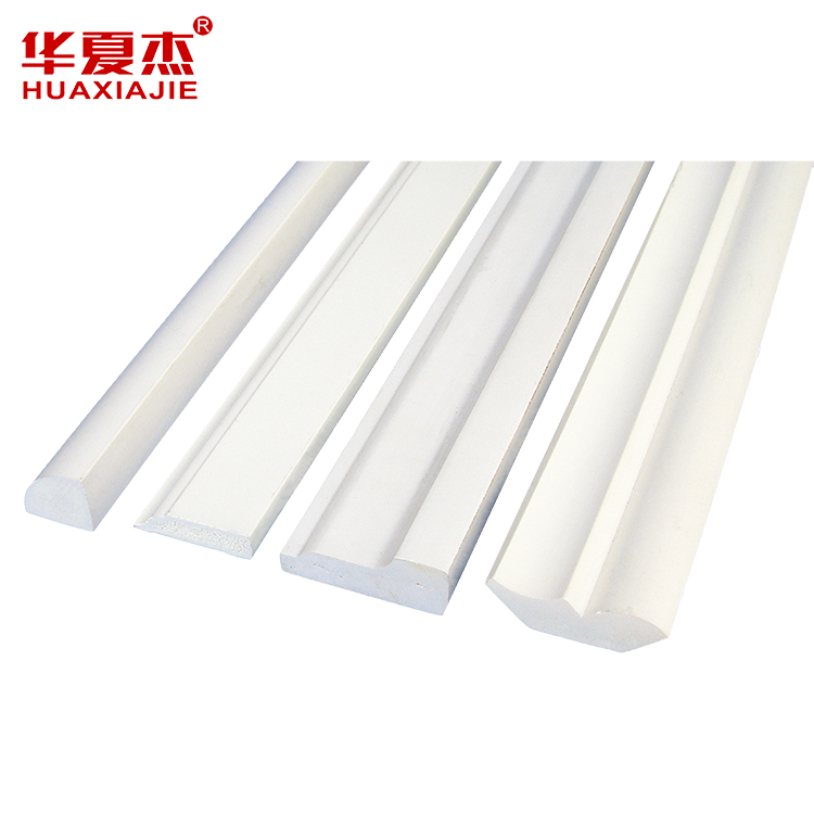 PVC Vinyl Base Cap Crown Moulding Decorative PV...