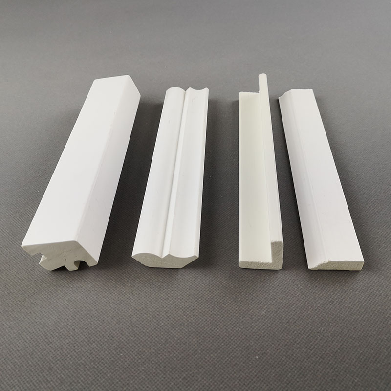 PVC Vinyl Base Cap Crown Moulding Decorative PVC Foam Board