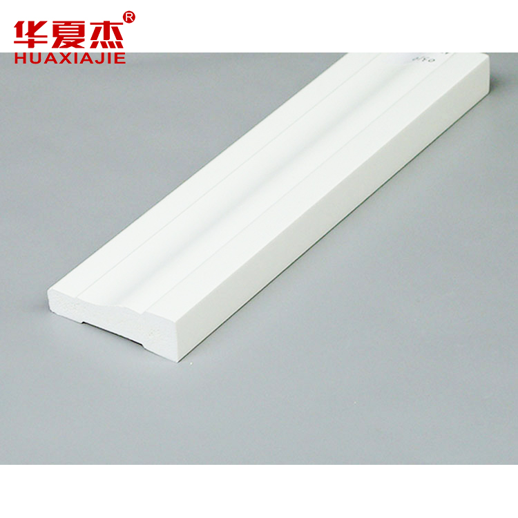 Recyclable pvc stretch picture frame moulding / pvc trim board