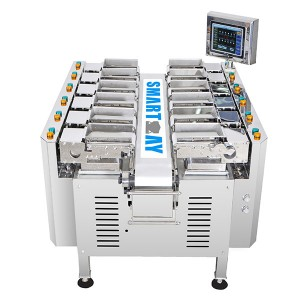 12 Head Linear Combination Weigher SW-LC12 For Meat