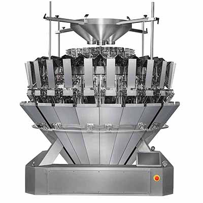 How do 24 head multihead weigher weigh 4 even 6 kinds of products?