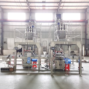Aluminum Plastic Can Tin Glass Bottle Filling Machine Packing System