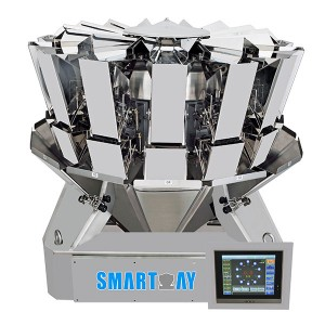 SUS304 high speed 14 head multihead weigher