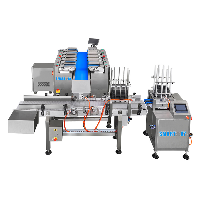 Auto tray denester tray packing machine Featured Image