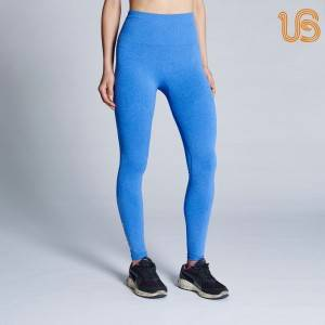 Women's Blue Marle Injury Recovery And Postpartum Compression Leggings