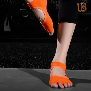 Toe Open Yoga Sock