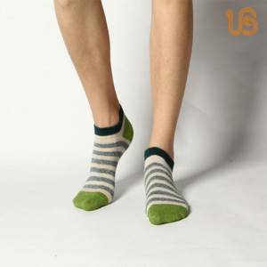 Men Stripe Ankle Sock