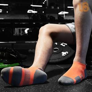 Compression Cotton Ankle Sock & Cushioned Running Socks