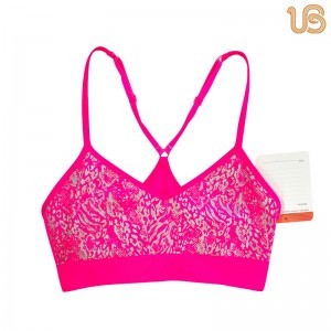 Seamless Custom Printed Bra | Seamless Sports Bra – Seamless Athletic Underwear