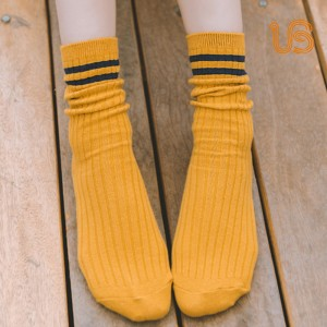 Women Cotton Sock Women Comb Cotton Sock Supplier