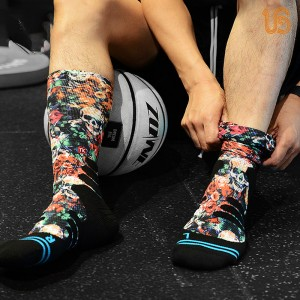 Sublimation Sport Sock & Womens Walking Socks Wholesale