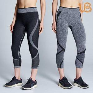 Women's Reversible Training Capri Leggings Supplier