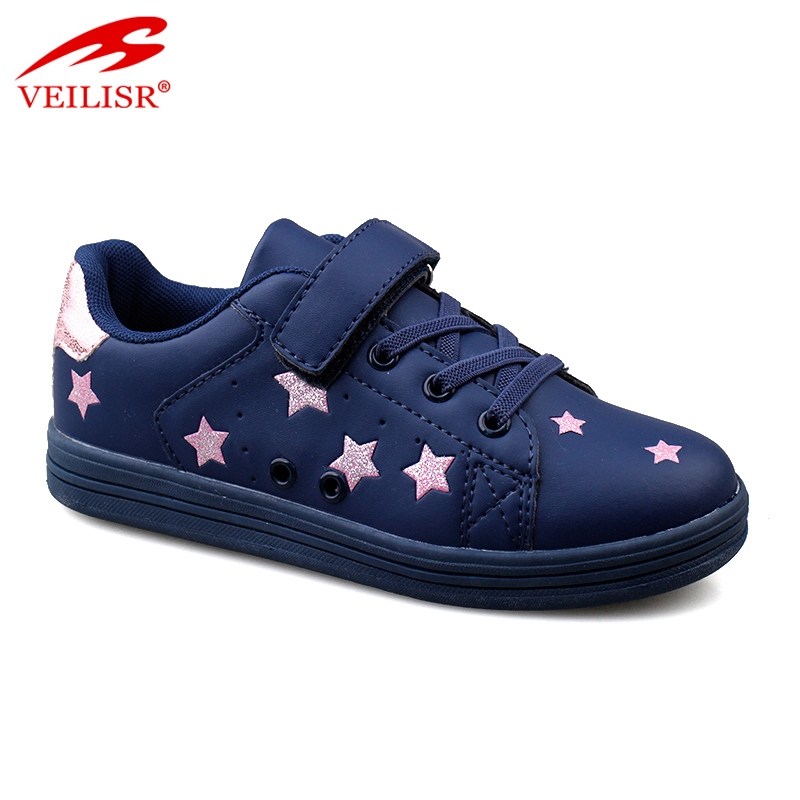Zapatillas fashion PU upper children sneakers Kids casual shoes