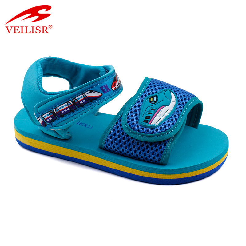 Outdoor summer fabric mesh children sandalias kids sandals Featured Image
