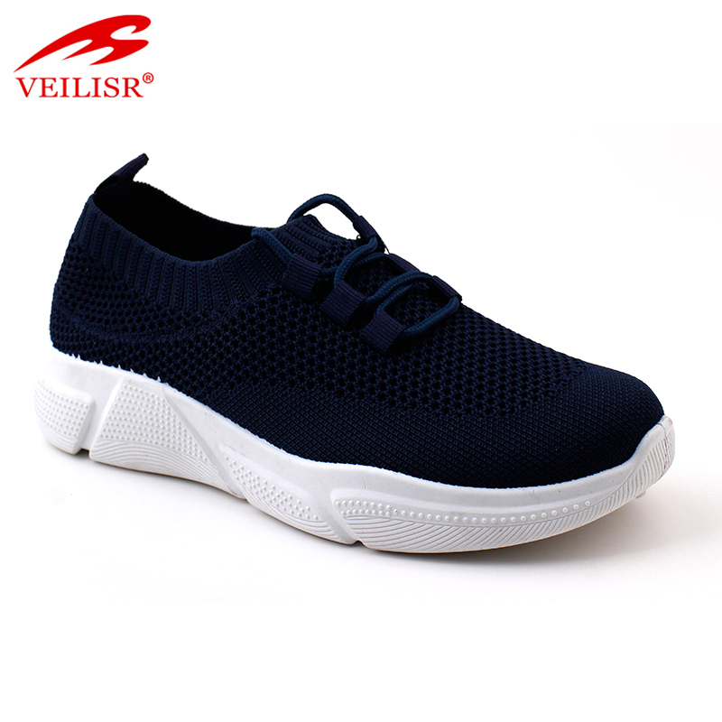 Comfortable Low Price New Styles Outdoor summer knit fabric ladies running sport shoes women sneakers