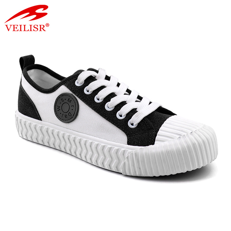 New design ladies casual sneakers women canvas shoes