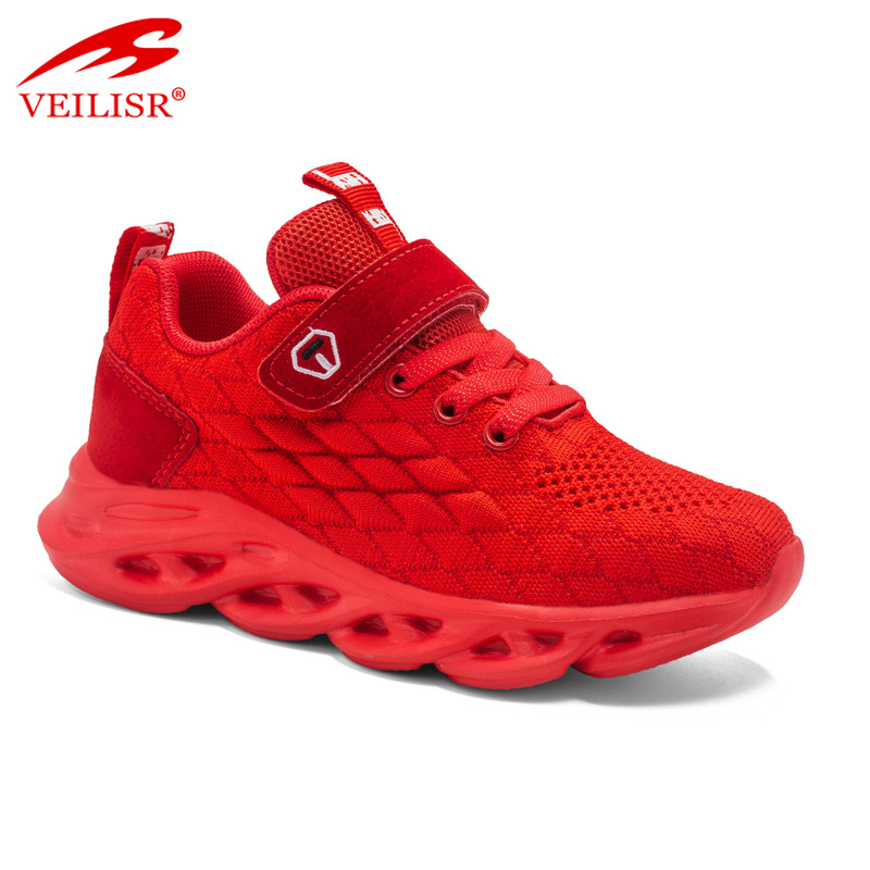 2020 China Wholesale Lightweight Typical Style Top quality fly knit mesh fabric children yeezy sneakers kids casual sport shoes