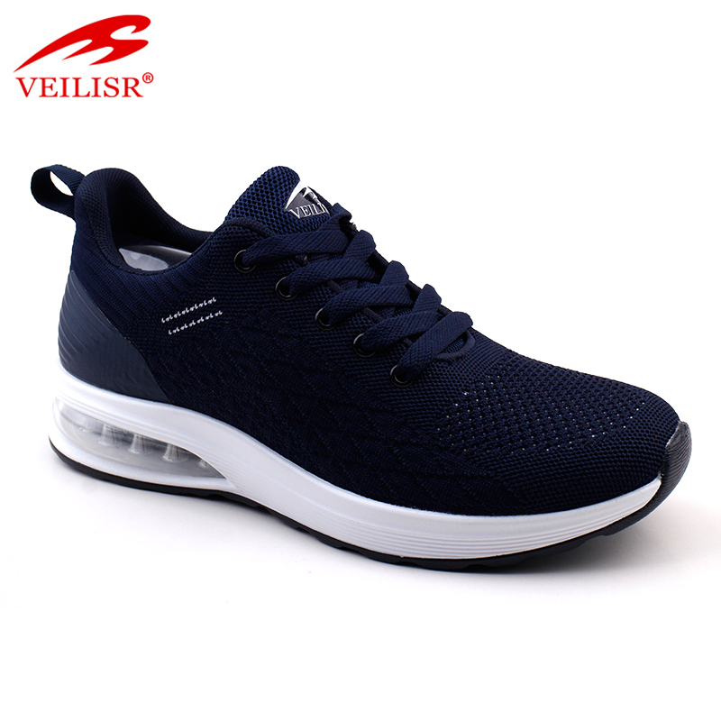 Zapatillas knit fabric fashion air sole sneakers men sport shoes