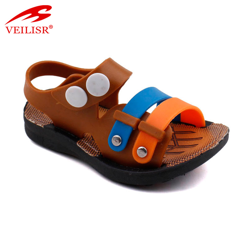 Outdoor summer walking children PVC sandalias kids sandals