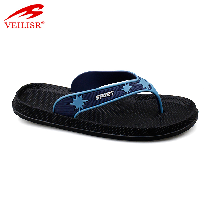 New outdoor summer beach PVC strap slippers men flip flops