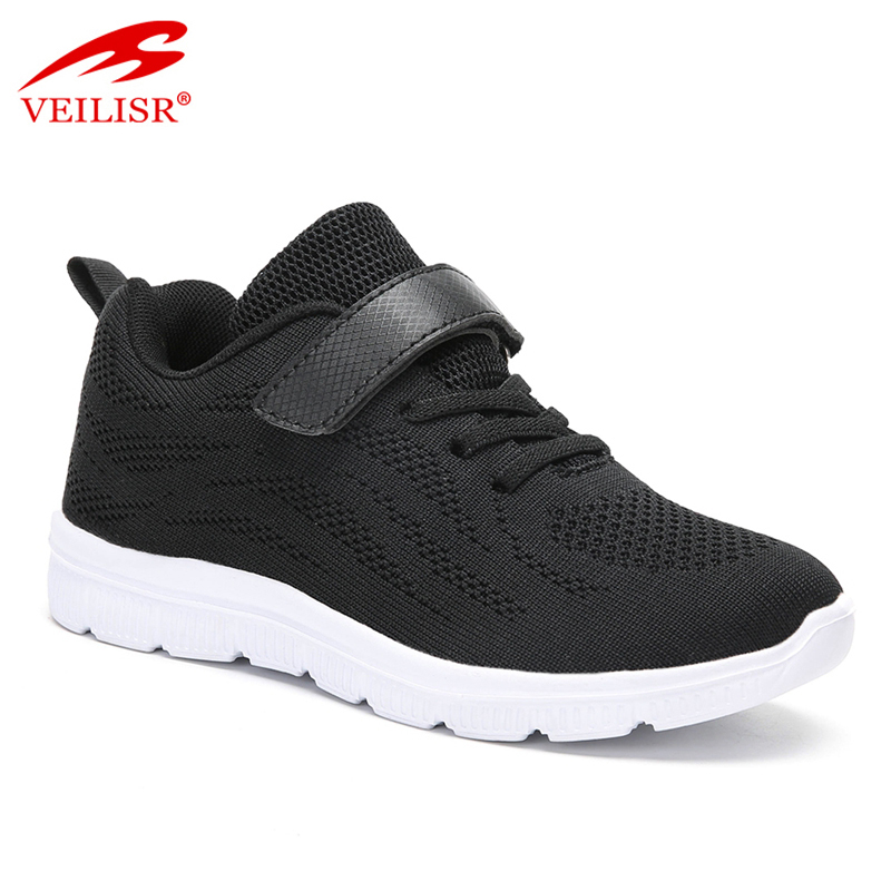 Zapatillas knit fabric children school sneakers Kids casual shoes