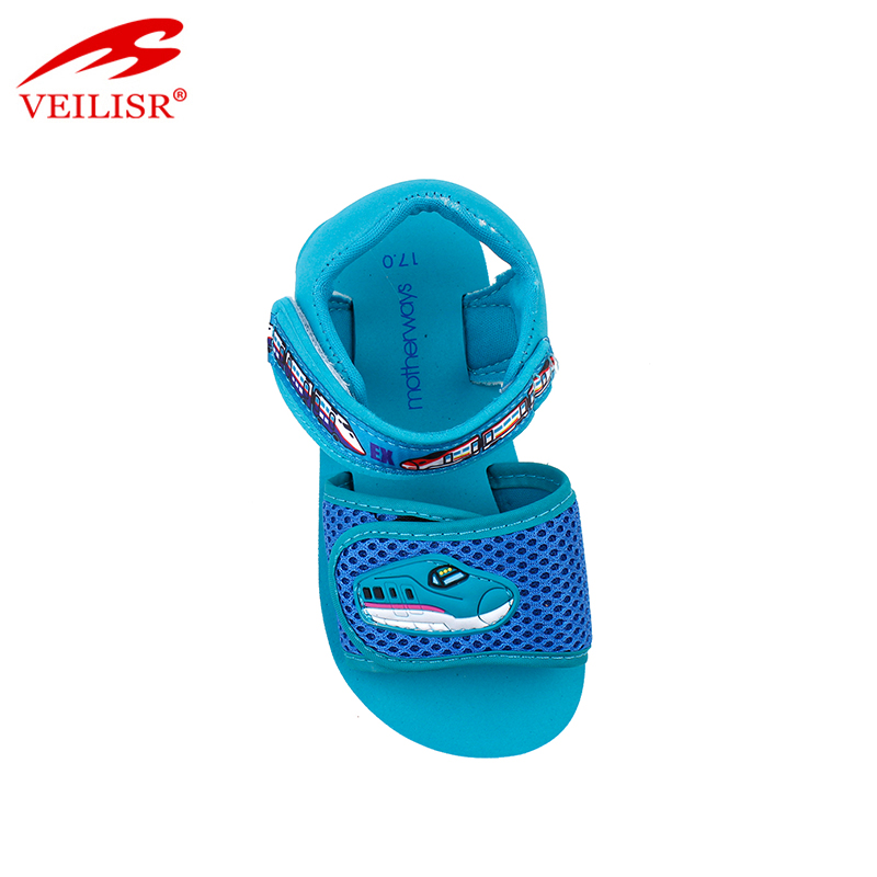 Outdoor summer fabric mesh children sandalias kids sandals