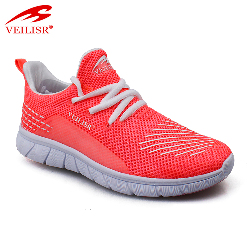 Outdoor new mesh upper ladies casual sneakers women sport shoes