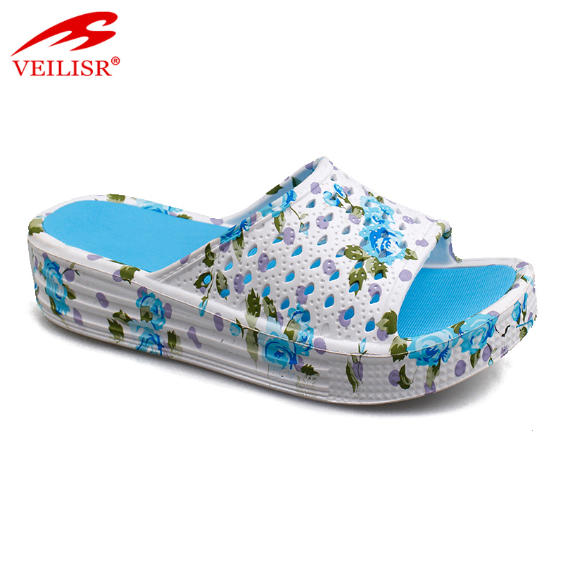 Outdoor summer beach ladies EVA slide sandals women massage slippers