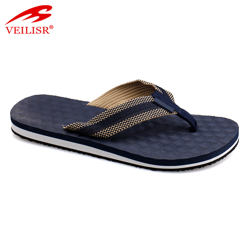 Fabric strap indoor yoga gym footwear men flip flops
