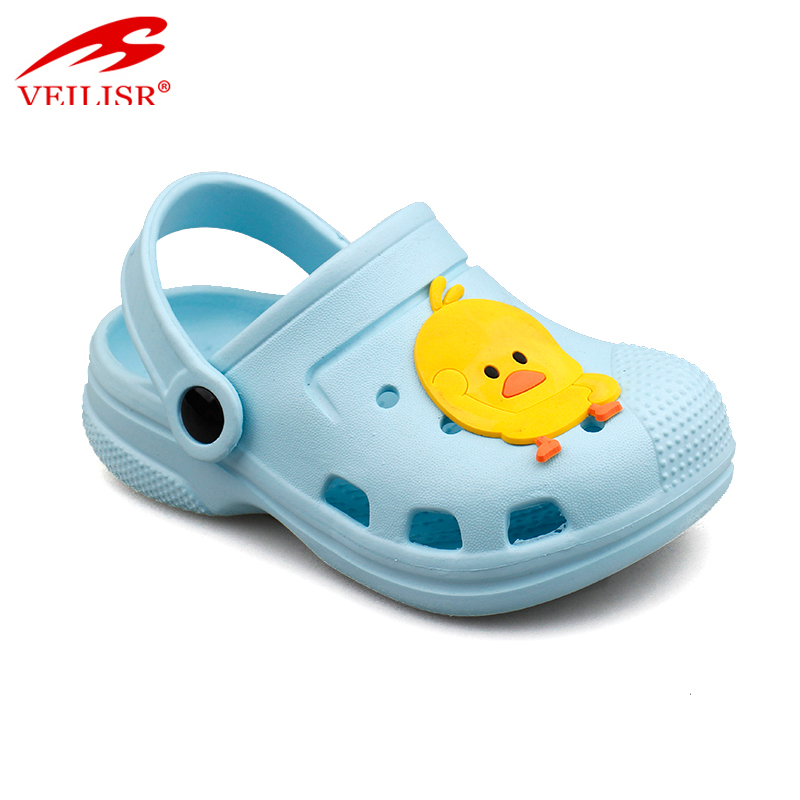 Outdoor summer beach cartoon children EVA sandals garden kids clogs