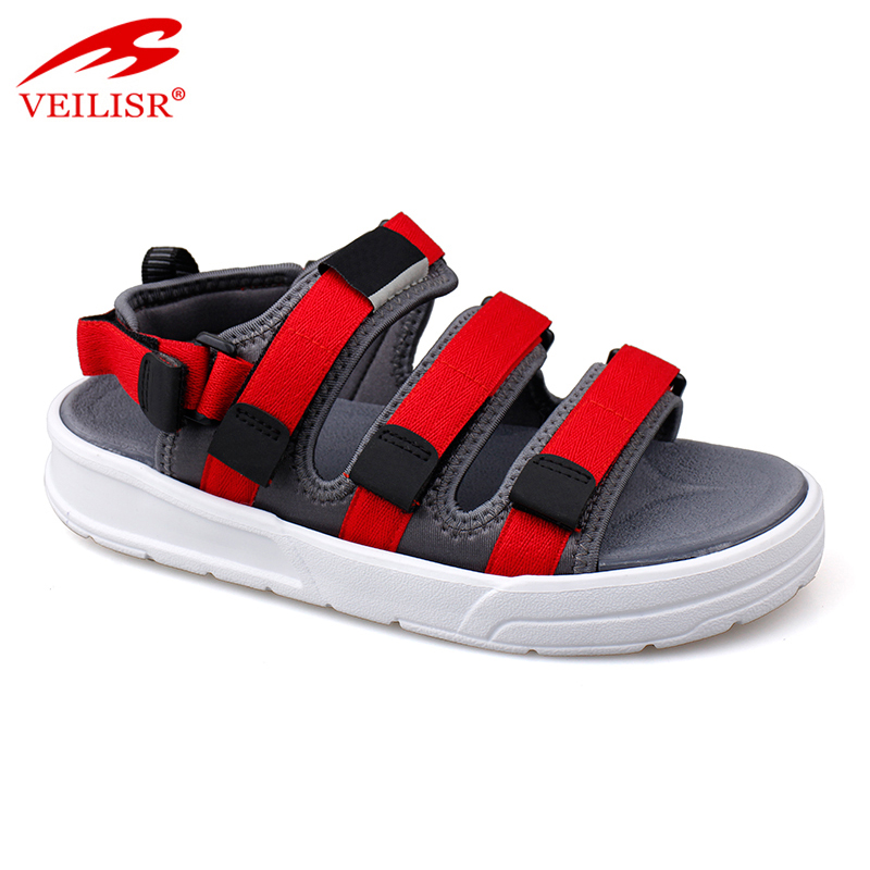 Outdoor popular nylon strap ladies footwear sport women sandals
