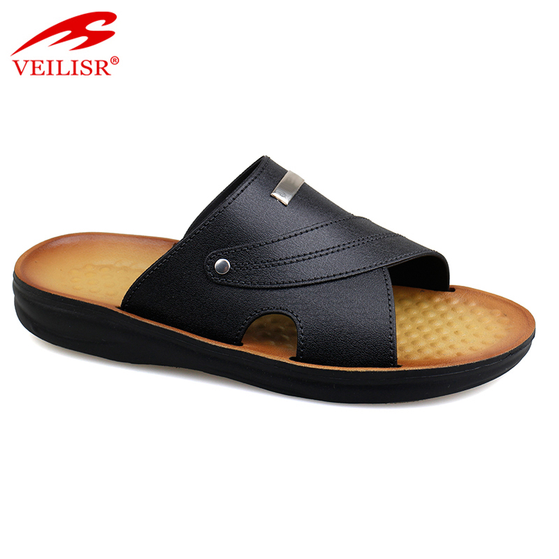 Chancletas outdoor summer PVC upper Slippers Men Slide Sandals