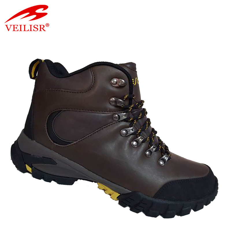 Zapatos outdoor warm trekking shoes men waterproof hiking boots