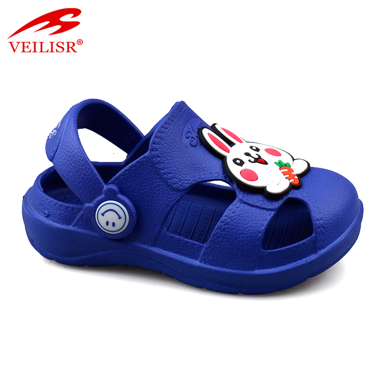 Zuecos outdoor summer sandals children EVA sabots kids clogs