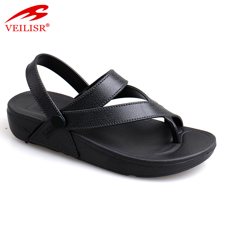 Summer beach thong footwear street walking ladies fancy sandals