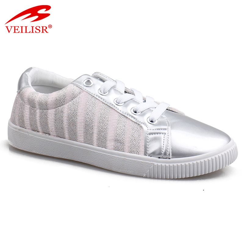 New design fashion fabric PU footwear injection kids casual shoes