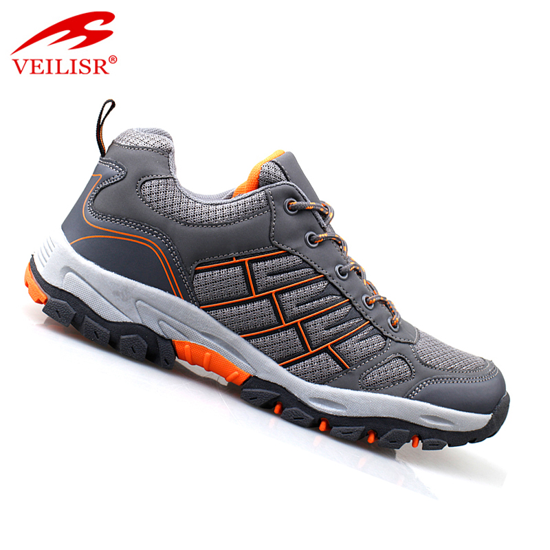 Outdoor fashion breathable trekking boots sport men hiking shoes
